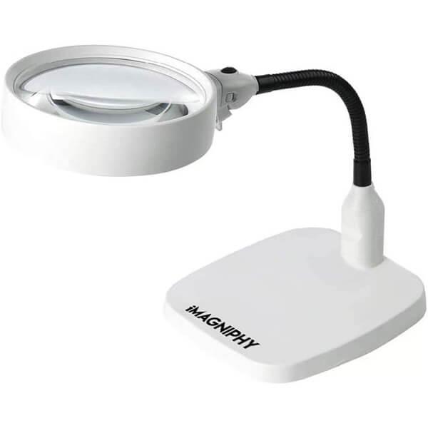 Lighted Desktop Magnifier