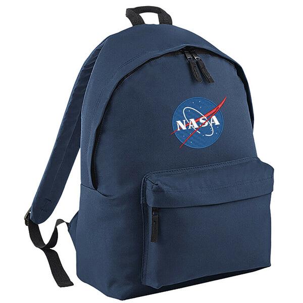 National Aeronautics Embroidered Students NASA Backpack