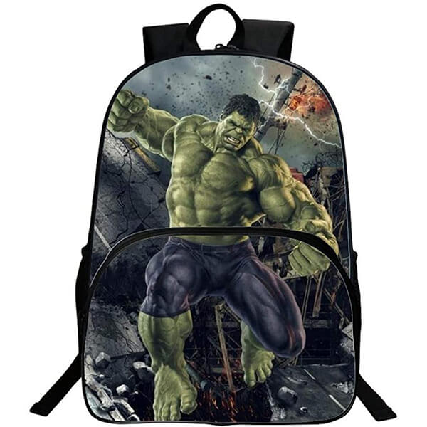 3D Creative Monster Waterproof Hulk Backpack