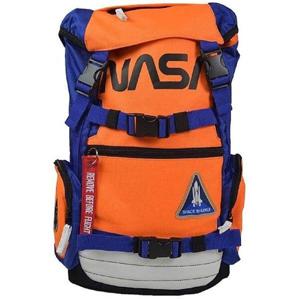 Flight Suit Inspired Polyester Preschool NASA Backpack