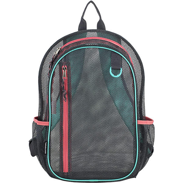 Graphite Sweet Coral Active Mesh Backpack