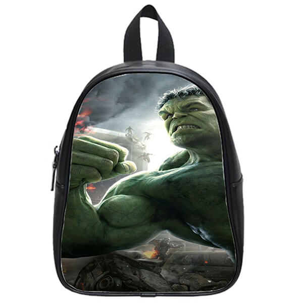 Personalized Incredible Hulk Book Bag for Kids