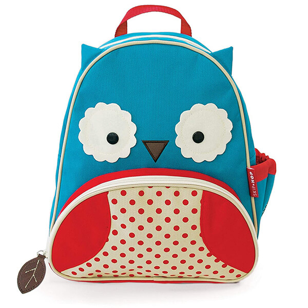 Phthalate-free Canvas Material Owl Backpack