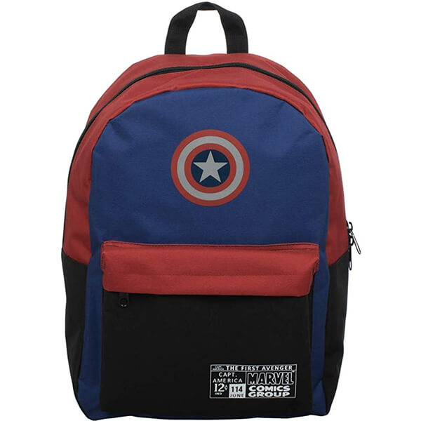 The First Avenger Captain America Kids Backpack