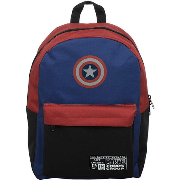 The First Avenger Captain America Kids Backpack