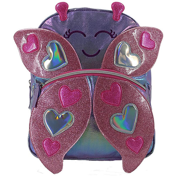 Lightweight Water Resistant Kindergarten Butterfly Backpack