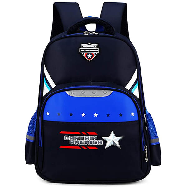 Waterproof Crest Captain America Backpack