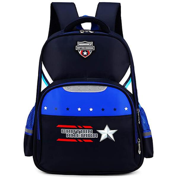 Waterproof Crest Captain America Backpack