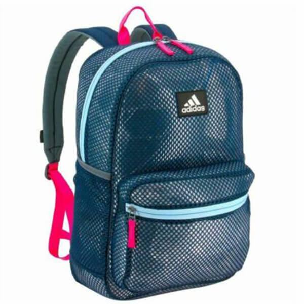 Adidas Hermosa Mesh Clear Backpacks