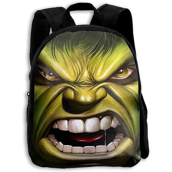 Angry Hulk Face Multi-purpose Backpack