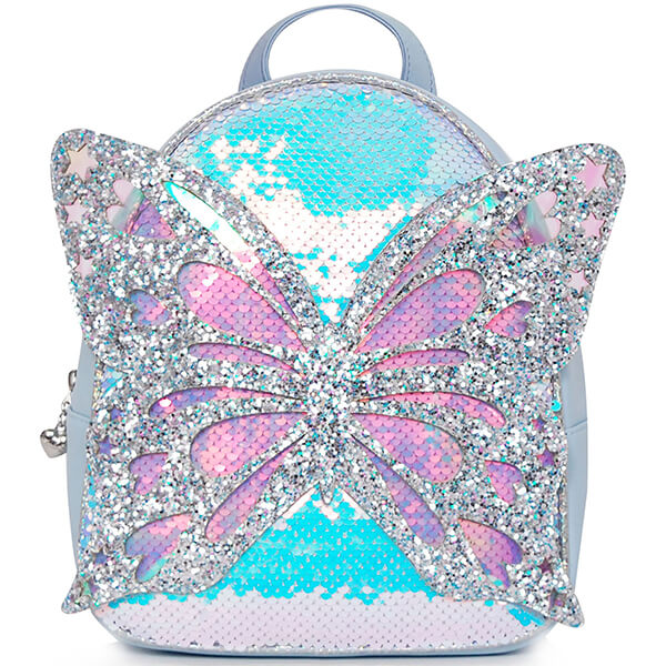 Princess Sequin Butterfly Backpack with Shiny Wings