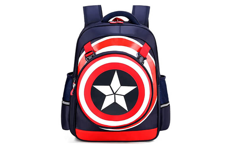 captain america backpack cover