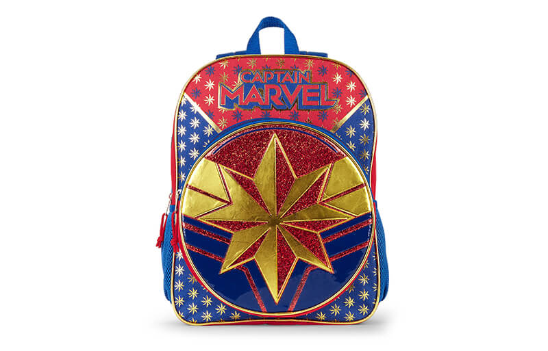 captain marvel backpack corver