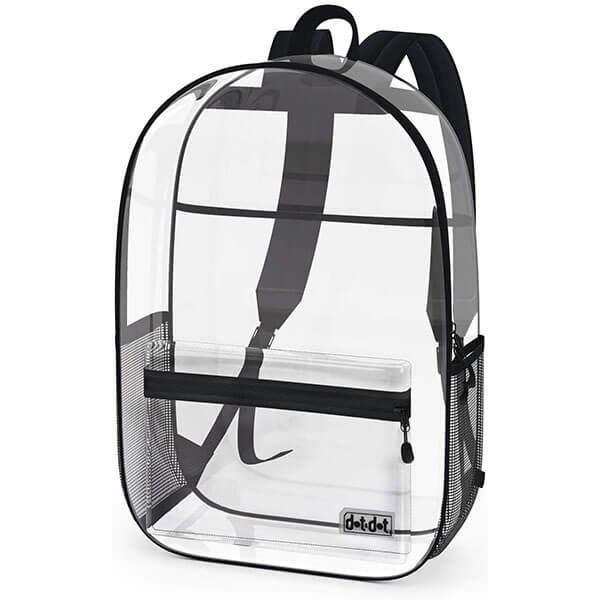 Heavy Duty Mesh Pouch Clear Bookbag