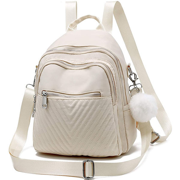 Nylon Water-Resistant Mini Backpack