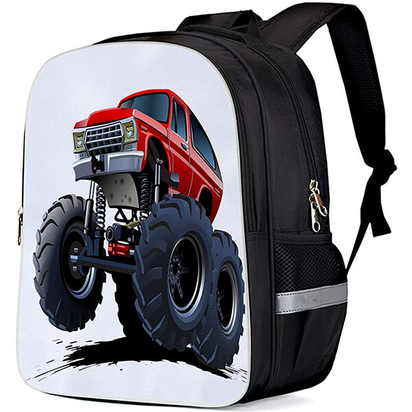 Oxford Fabric Monster Jam Bookbag