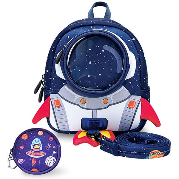 Toddlers Rocket Backpack with Harness Leash