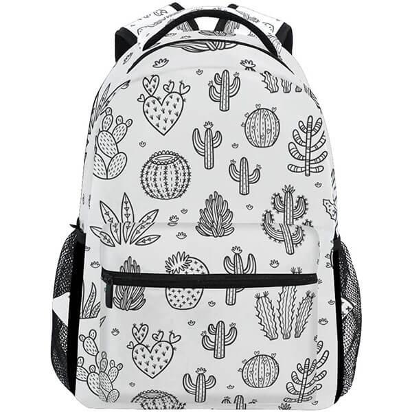 Water Resistance Grade Schooler Cactus Backpack