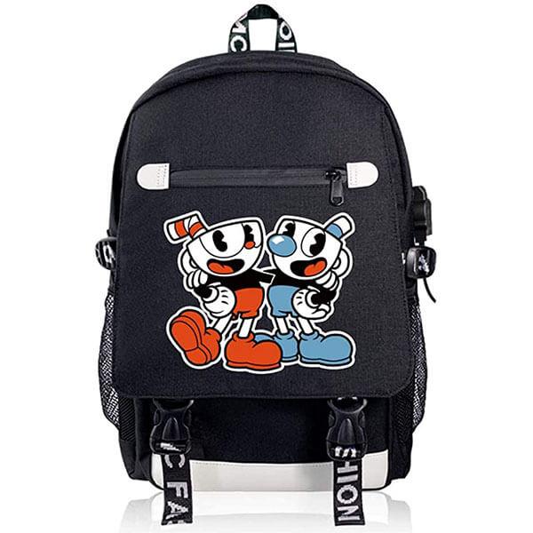 Fashion Shoulder Backpack with USB Slot