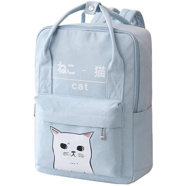 Japanese and Korean Kawaii Cat Backpack
