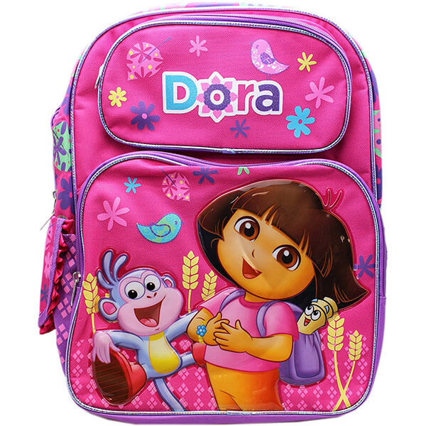 Laugh with Boots and Dora Full-size Kids Backpack