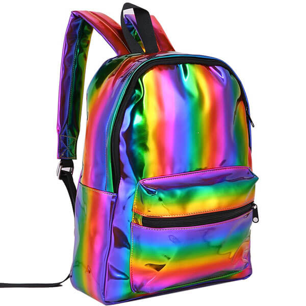 Reflective Casual Backpack for Adolescents