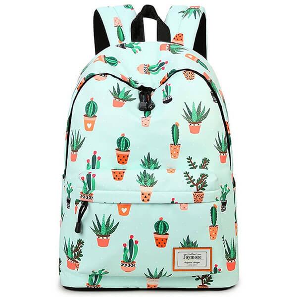 Teenagers Keychain Cactus Backpack