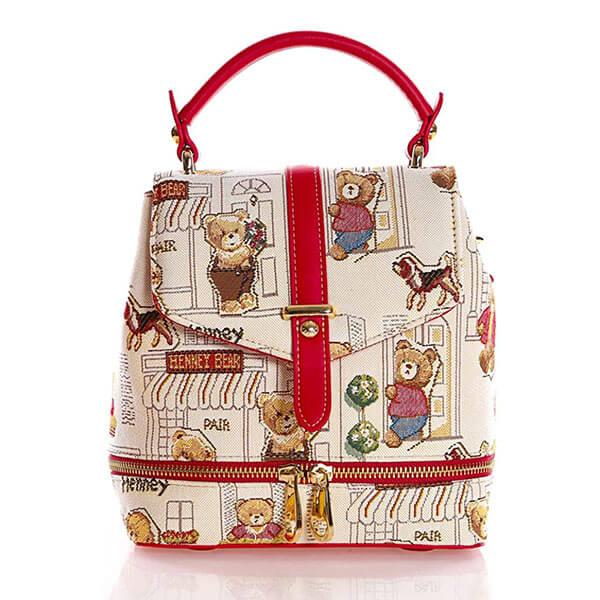 Cute Bear Casual Mini Backpack Handbag