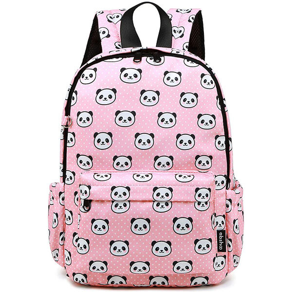 Little Kid's Panda Backpack with Chest Strap