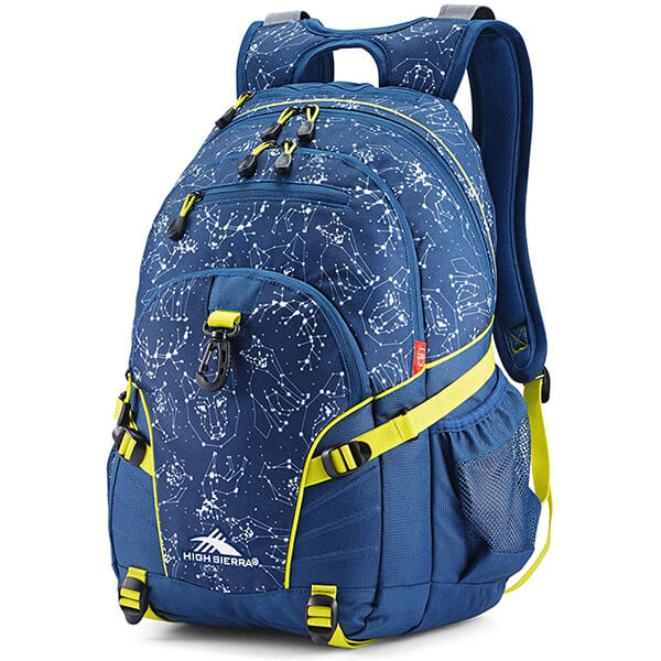 Versatile Blue Colored Loop Backpack