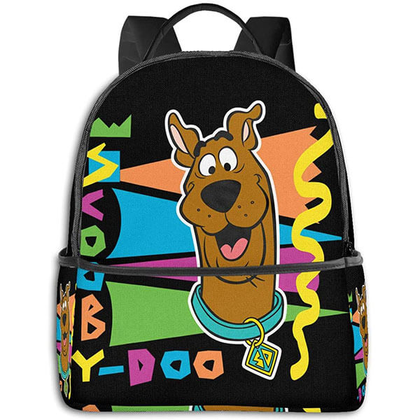 Colorful Nylon Scooby Doo Backpack