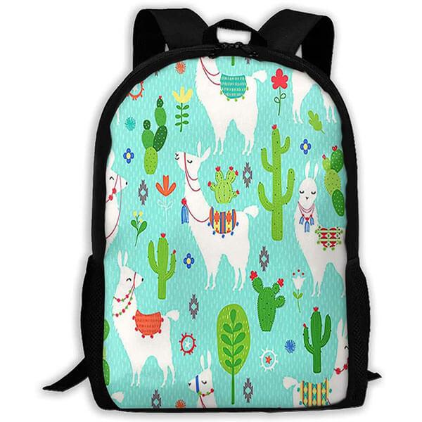 Llama Durable Cactus Backpack