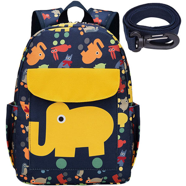 Waterproof Elephant Backpack With Harness Leash