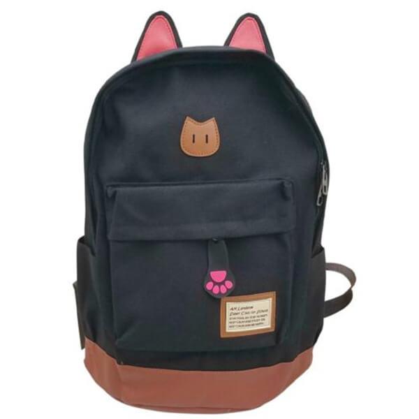 Super-Cute Cat Ears Teenagers Backpack