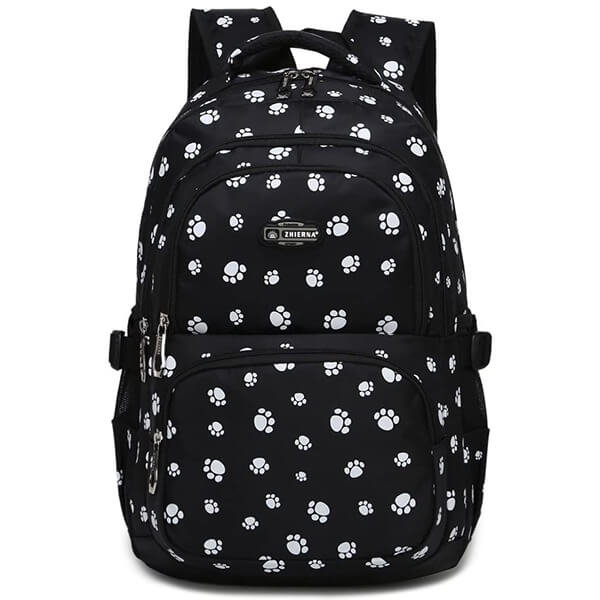 Cat Paw-print Middle Schoolers Backpack
