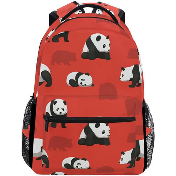 Fashionable School Kids Panda Backpack