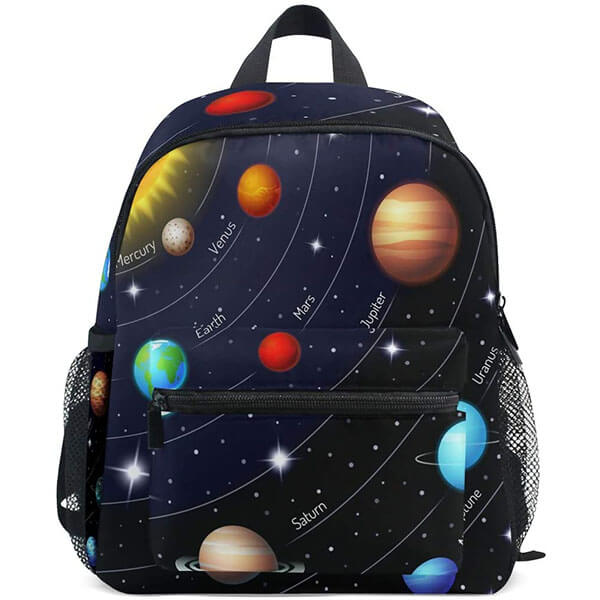 Kids Planet and Universe Travel Backpack