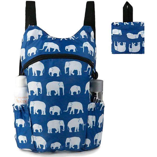 Machine Washable Elephant Backpack