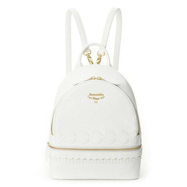 White color Sailor Moon Mini Backpack
