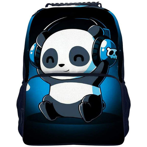 Anti-Wrinkle Panda Bear Backpack for Youth