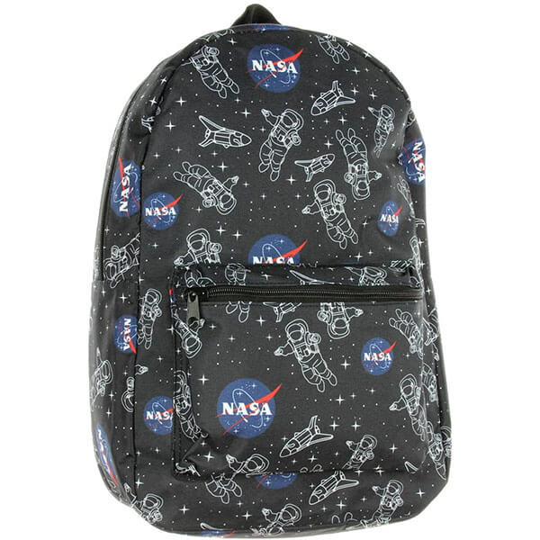 Astronaut School Backpack with NASA Logo