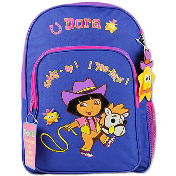 Horse-Riding Dora Backpack With Bonus Pouch