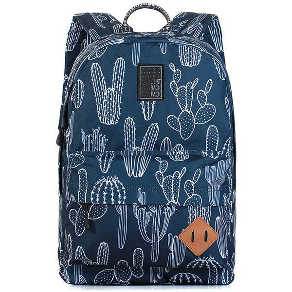 Premium Water-resistant Fabric Cactus Backpack