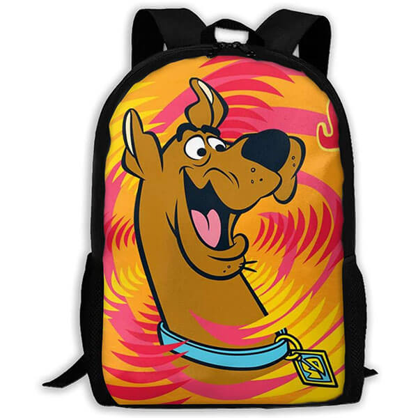 Durable Stylish Happy Scooby Backpack