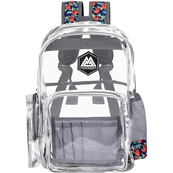 Costa Designer Cool Transparent Backpack