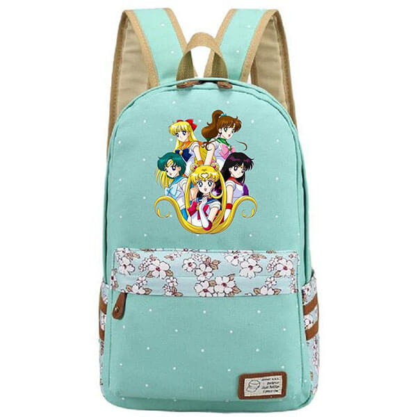 Light Valley Green color Sailor Moon Backpack