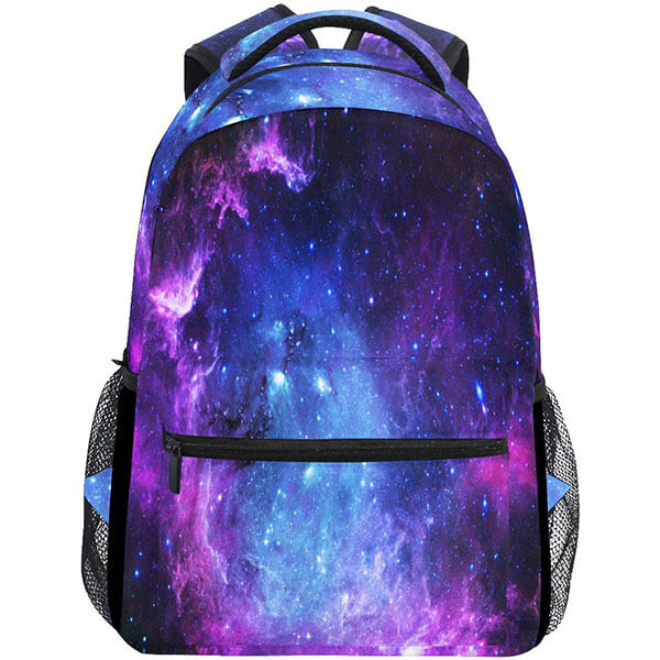 ShineSnow Purple and Blue Laptop Backpack