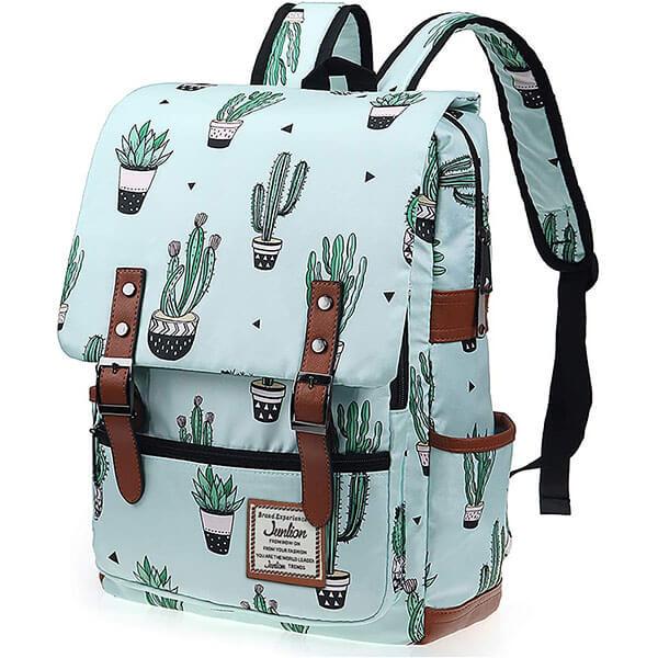 Vintage Style Cactus Backpack