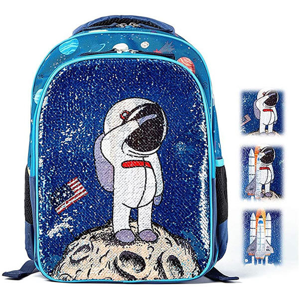 Astronaut Landing on Moon Backpack for Preschool