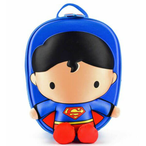 Cute 3D Superman Animated Backpack